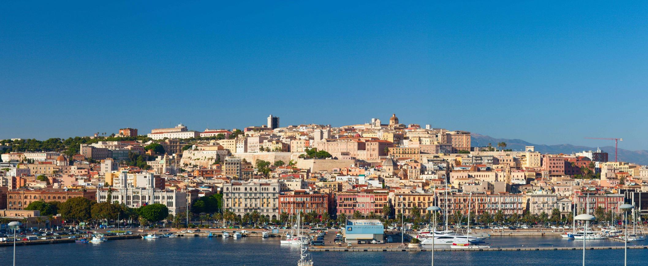 south Cagliari Sardinia