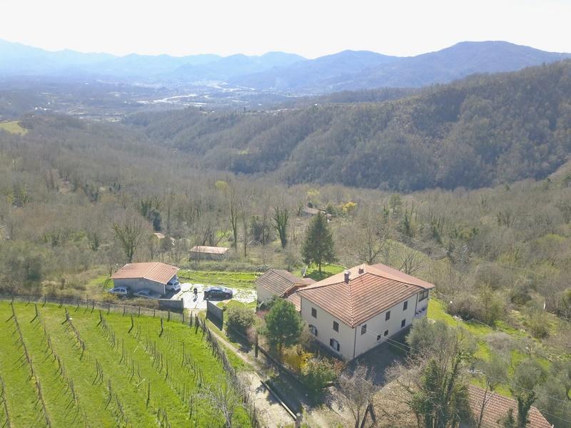 Grosses Landhaus in Lunigiana bei Mulazzo