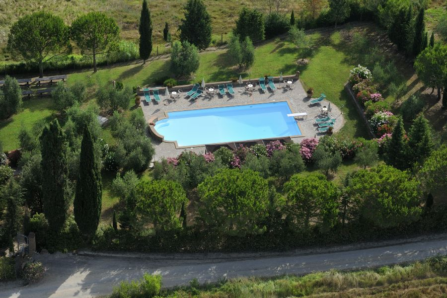 Agritourism in center of Tuscany