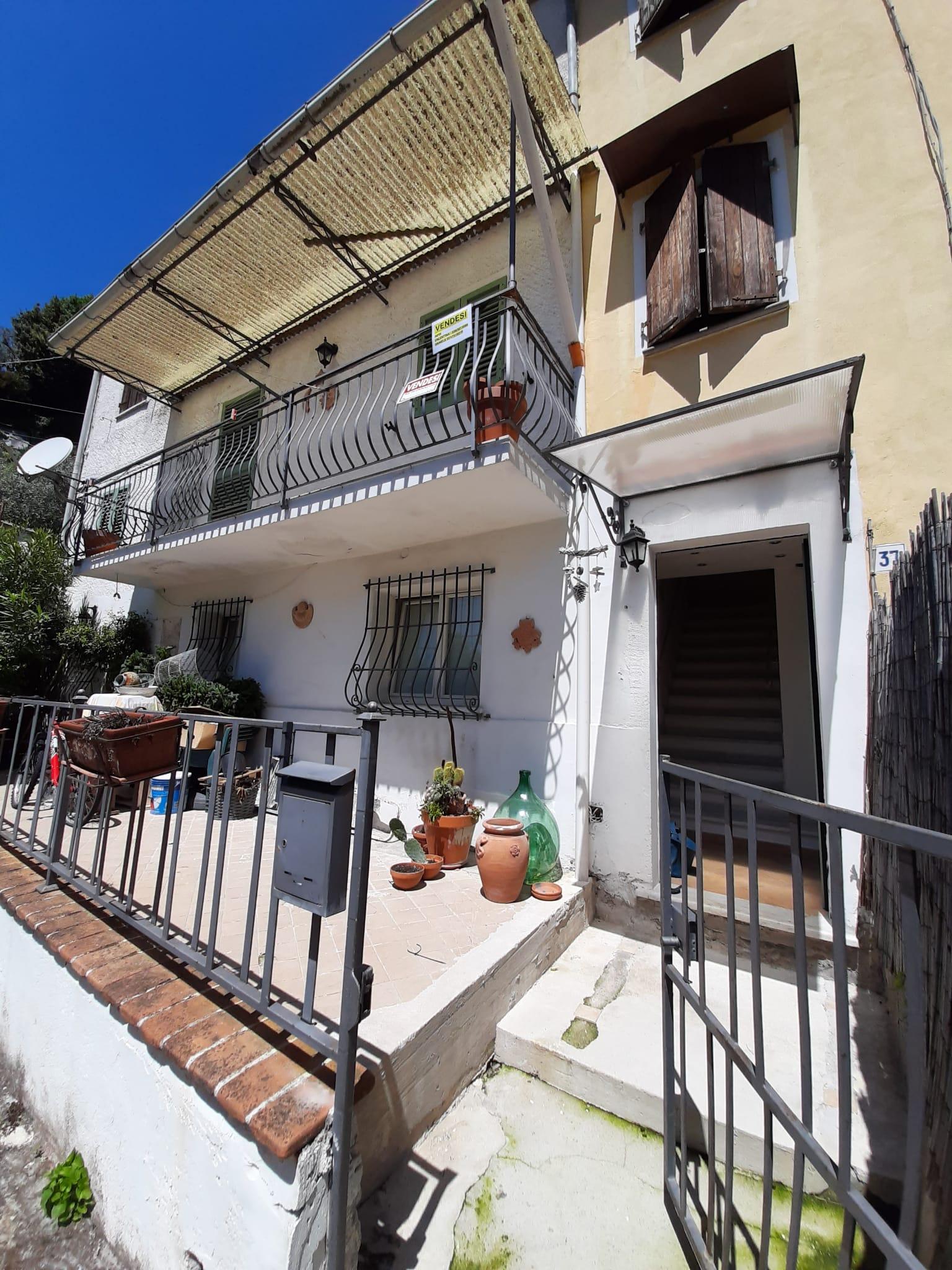 Small semi-detached house in Montignoso